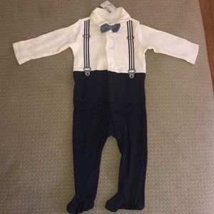 The Children's Place 1 piece with Bow tie NWT